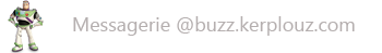 Webmail buzz.kerplouz.com - Utilisez vos identifiants du reseau informatique